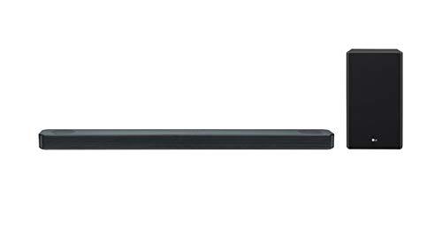 LG Sound Bar SL8Y with High Resolution Audio (Black)