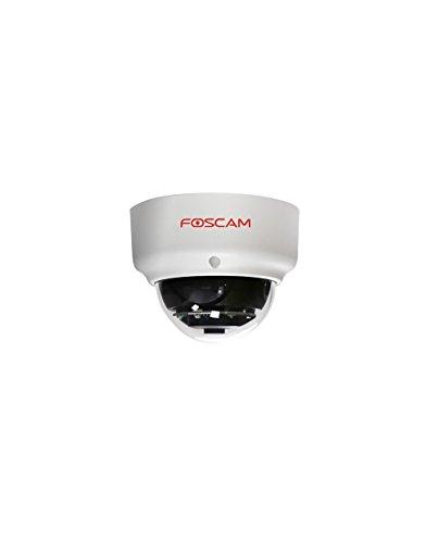 Foscam FI9961EP Full HD 2MP PoE P2P WDR 2.0 wettergeschützte IP-Kamera / Überwachungskamera mit IR Nachtsicht bis 20 m, Bewegungserkennung -