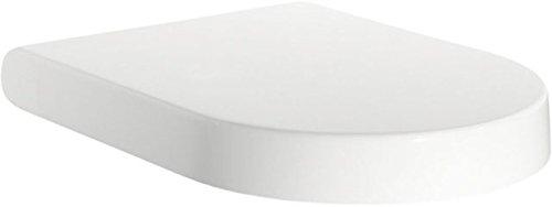 K705801 WC-Sitz Moments mit Deckel Scharniere aus Edelstahl, Softclosing, weiß
