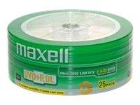Maxell DVD+DL Rohlinge (8x Speed, 8,5GB, 25 Stück)