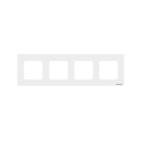 Niessen - n2274bl marco estandar 4 ventanas zenit blanco Ref. 6522005254