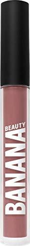 Banana Beauty Lady Licious (3 ml) - Semi Matte Liquid Lipstick - kussechter Lippenstift matt für volle Lippen - veganer Lipgloss matt - bräunlicher Rosa-Ton