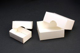Adventskalender Rohling - Schachteln - Boxen Karton blanko weiß zum Bemalen und Befüllen (45 x 60 x 24)