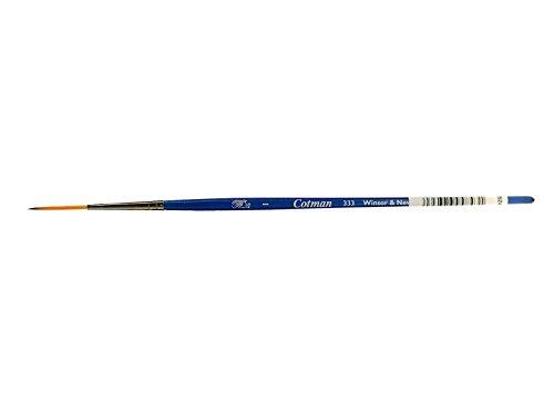 Winsor & Newton–Pincel de acuarela Cotman–Serie 333Nº 1–1,5mm, redondo–takelage–Pincel con Mango Corto (