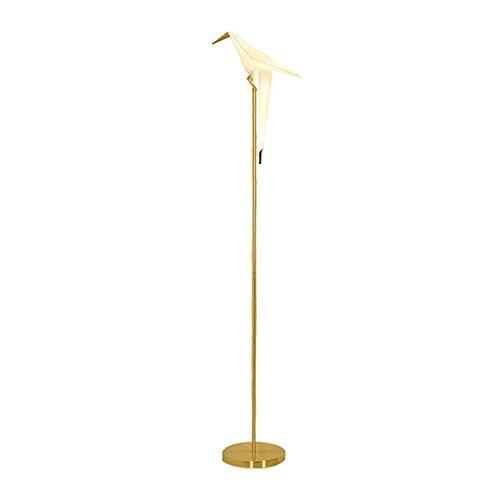 W Leselicht Stehlampe (KDLD Stehleuchten ® Stehlampe Moderne Leselicht-Lampe Acryl-Vogel-Fußboden-Licht 220V H 165 Cm X W 30 Cm)