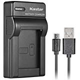 Kastar Slim USB Charger for Panasonic DMW-BCG10 and Lumix DMC-ZS1, ZS3, ZS5, ZS6, ZS7, ZS8, ZS10, DMC-ZS15, DMC-ZS19, DMC-ZS20, DMC-TZ7, DMC-TZ10, DMC-TZ19, DMC-TZ20, DMC-TZ30, DMC-ZR1, DMC-ZR3