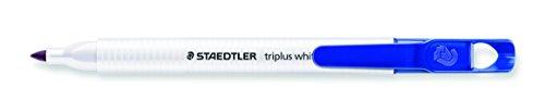 Staedtler Slim per lavagna bianca, colore: Blu (confezione da 10)