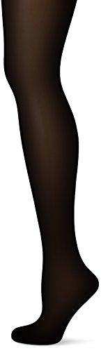 Fiore Damen Strumpfhose Shapingstrumpfhose TOTAL-SLIM 20 den/BODYCARE Schwarz (Black 001) Medium (Herstellergröße:3) -