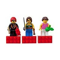 LEGO 4593438 Minifigures - Magnets Game with Female Figures and Accessories (3 Figures)