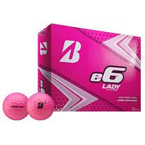 Bridgestone 2019 e6 Lady Pink Golfball, Dutzend