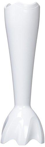 Braun Plastikschaft kpl. weiß
