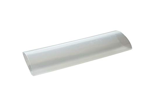 Schrumpfschlauch 3:1 mit Kleber wassserdicht von 3mm bis 50mm DM Größe/Farbe bitte wählen, Farbe:transparent, Größe:19mm - 1.2 Meter