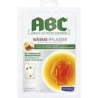 ABC Wärme-Pflaster Capsicum 11mg Hansaplast med 2 stk