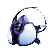 3M 4279PT Respiratore per Gas e Vapori a Semimaschera, Maschera Protettiva con Filtri Antigas e Antipolvere per Sostanze Tossiche, Blu, Protezione FFP2, Certificato EN Sicurezza, 1 Pezzo
