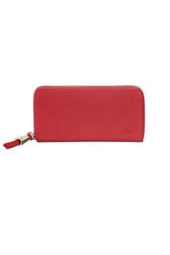 SAMSONITE Satiny SLG - Zip Around Large Kreditkartenhülle, 0 Liter, Scarlet Red