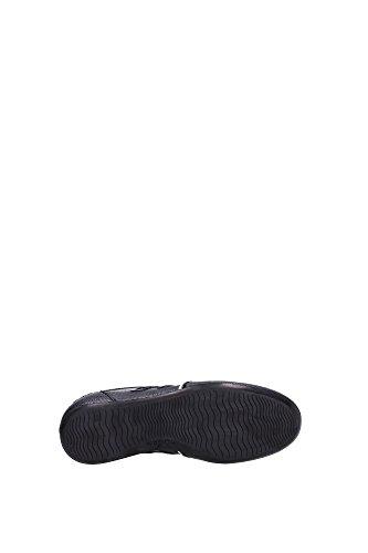 HXW05201687BY90353 Hogan Sneakers Damen Leder Schwarz Schwarz