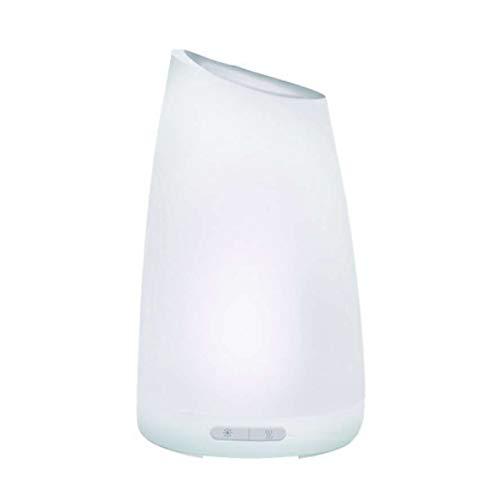 SODIAL Humidificador Ultrasónico De Aire USB Cargador 7 Col Led Aromaterapia De La Luz De La Noche Difusor del Aroma del Aceite Esencial para El Hogar
