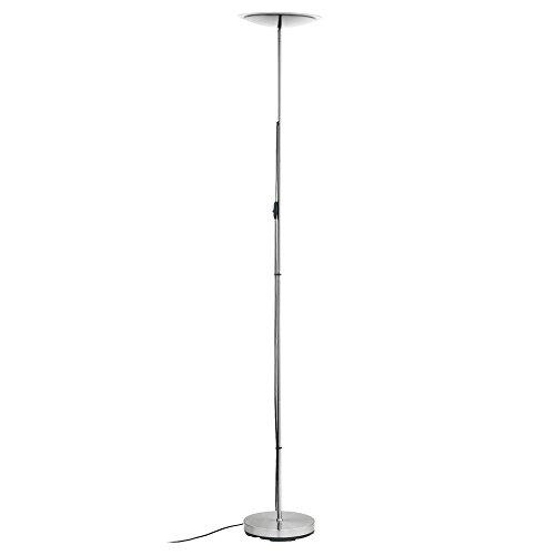 18 Watt LED Steh Lampe Decken Fluter Lese Beleuchtung Stand Leuchte Eglo 75318