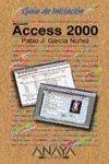 Access 2000 (Guias De Iniciacion)