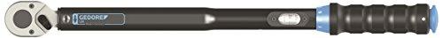 """GEDORE 3550-UK-LS3 1/2"""" Drehmomentschlüssel 40-200 Nm inkl. Zertifikat/im Set mit 3 langen Kraftschraubernüssen/Kraftschraubereinsätze mit Schutzhülse für Alu-Felgen/Auslösegenauigkeit +/- 3%"""