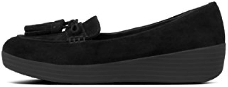 Fitflop Tassel Bow Sneakerloafer, Mocasines (Loafer) para Mujer