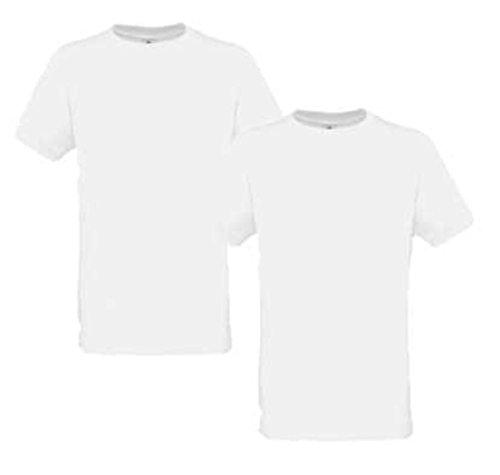 B&C Herren Sport T-Shirt Freizeit Fitness Shirt Weiß XL Weiß