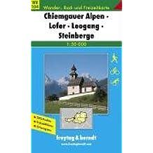 Freytag Berndt Wanderkarten, WK 104, Chiemgauer Alpen, Lofer, Leogang, Steinberge, GPS, UTM - Maßstab 1:50 000
