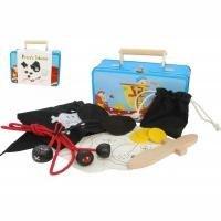 Pirate Dress up Tin Suitcase Set