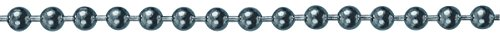 HSI Kugelkette Messing verchromt 4,5 mm Rolle 25 m, 1 Stück, 137651.0