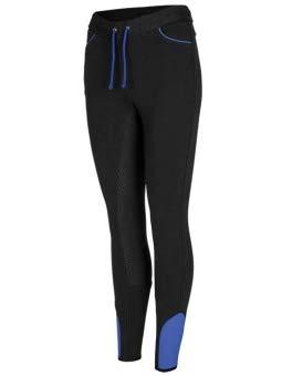 Busse Reit-Leggings LISSY, 38, schwarz (diva blue)
