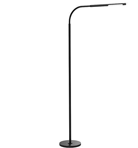 Halo Optronics Rocket 1933 Lampadaire LED 10W équivaut à 100W Variation Tactile de Luminosité Lampe LED Lampe de Salon Lampe de Chambre Liseuse Lampe Design Tout En Aluminium Multi-Position