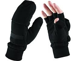 Dickies Winter-overall (Dickies Halbfinger Handschuh, Einheitsgröße, schwarz, 1 Stück, GL8005 BK)