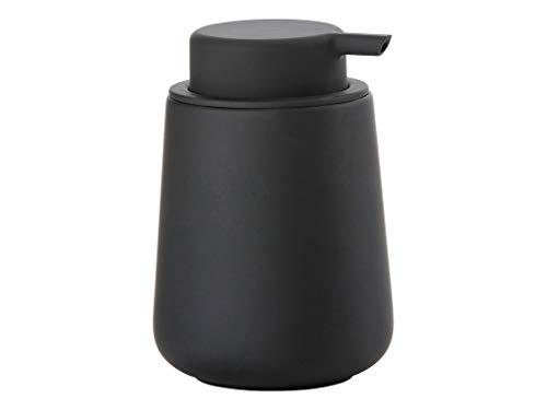 ZONE Seifenpumpe NOVA ONE, Steingut mit Soft-Touch, schwarz, ca. 11,5 cm H