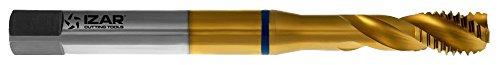 Izar 21854–männlich Maschine für Holz-Metall HSSE + Tin DIN371(M) Inox Tin 10,00x 1,50