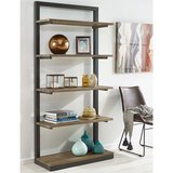 Barnyard Reclaimed Wood Bookcase with Metal Frame