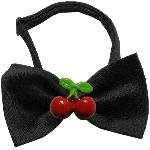 Mirage Pet Products 47–13 BK Red Cherry Chipper schwarz Bow Tie Schleife, klein (13 Chipper)