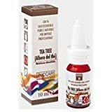 ZUCCARI–Tea Tree ätherisches Öl 10ml–Balsam, antibakteriell, gegen Pilzerkrankungen–[Kit mit Seife Natur quizen gratis]