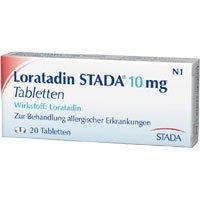 LORATADIN STADA 10 mg Tabletten 20 St (Loratadin Tabletten)