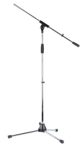 Pronomic MS-25C Pro - Pie de micrófono, cromado