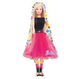 x 107 cm Barbie Sparkle Super formfolienballon ()
