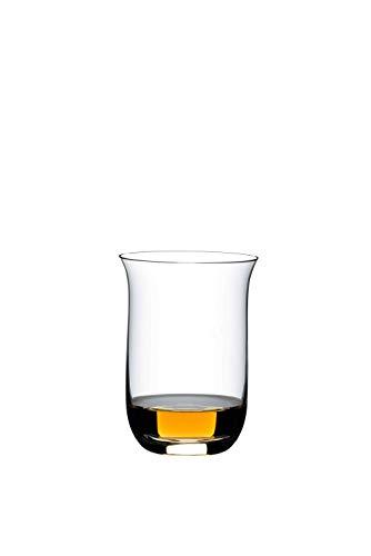 Riedel 0414/80O Wine Tumbler Whiskey Glas (Set von 2), Feines Kristall, klar -