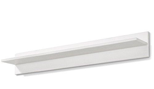 LifeStyleDesign 550262 Wandboard EMMA, 14 x 14 x 90 cm, kiefer, weiß honig
