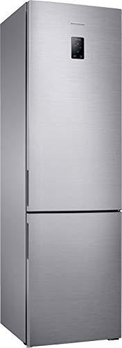 Samsung RL37J5269SS/EG Kühl-Gefrier-Kombination / A+++ / 201 cm Höhe / edelstahl / 173 kWh / Jahr / 267 L Kühlteil / 98 L Gefrierteil / Twin und Metal Cooling / Freshzone / Gemüseschublade