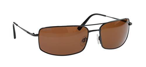 Serengeti Treviso Dunkelsilber Klassische Sonnenbrillen, Drivers Glaslinsen Photochromic Polarized, Groß