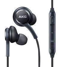 AKG Samsung Earphones S8 / S9 / S10 / Note 10 Compatible with All Gadgets. (S8/S9 (Black)(with Protective Case)) Image 2