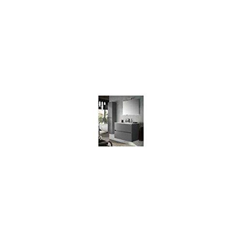 Salgar noja 800 - Mueble /gris +lavabo porcelana