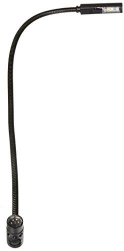 Littlite 18XR-4-LED LED-Leuchte mit Schwanenhals, rechtwinkliger 4-poliger XLR-Anschluss, 45,7 cm