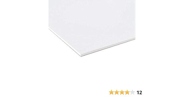 diff/érentes /épaisseurs et dimensions de haute qualit/é id/éal pour impression des rev/êtements ou mod/élisme Forex Lot de 3 panneaux en PVC blanc l/éger et r/ésistant /épaisseur 10 mm 20 x