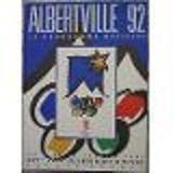 Jeux Olympiques d'hiver. Albertville 92. Programme officiel. 1992. Broché. 266 pages. 23x30 cm. (Jeux Olympiques, Sports, Ski, Alpes)