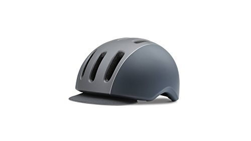 Giro Erwachsene Reverb Fahrradhelm, Matte Titanium/Dark Blue, M
